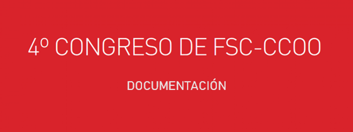 4º Congreso FSC Documentación